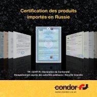 Certification | Service DDP - Condor Spedition