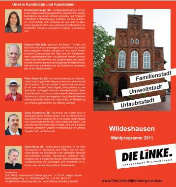 Wildeshausen - die linke. oldenburg-land