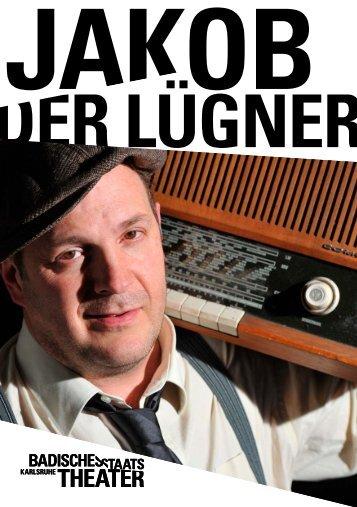 JAKOB DER LÜGNER - Badisches Staatstheater - Karlsruhe