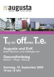 Augusta Kliniken Bochum Hattingen