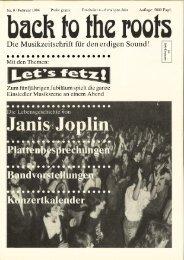 Booklet 1994 - Let's Fetz Einsiedeln
