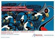 Flyer - Tingatinga Art
