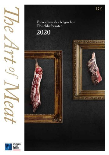 Belgian Meat Office - The Art of Meat