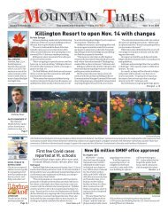 Mountain Times - Volume 49, Number 38 - Sept.16-22, 2020