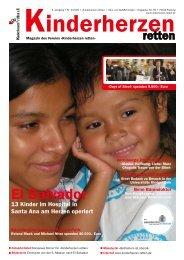 Kinderherzen retten« - Magazin • Winter 2009