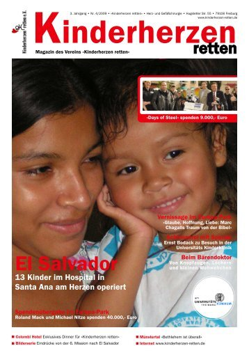 Kinderherzen retten« - Magazin • Winter 2009