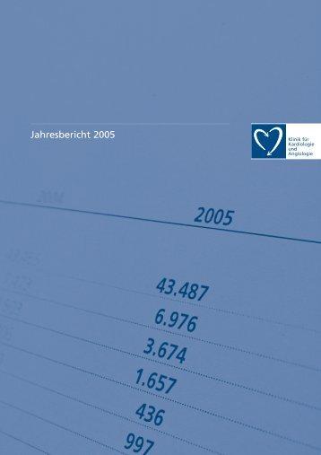 Jahresbericht 2005 - Elisabeth Krankenhaus Essen GmbH