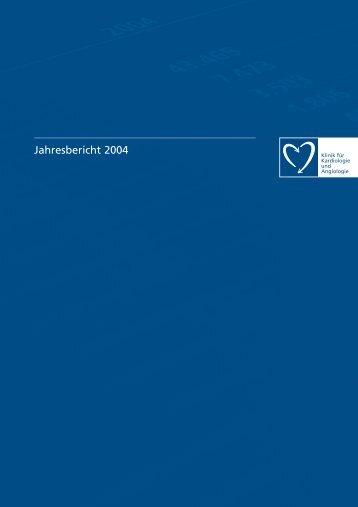 Jahresbericht 2004 - Elisabeth Krankenhaus Essen GmbH