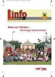 Alles nur Theater – - Linnich