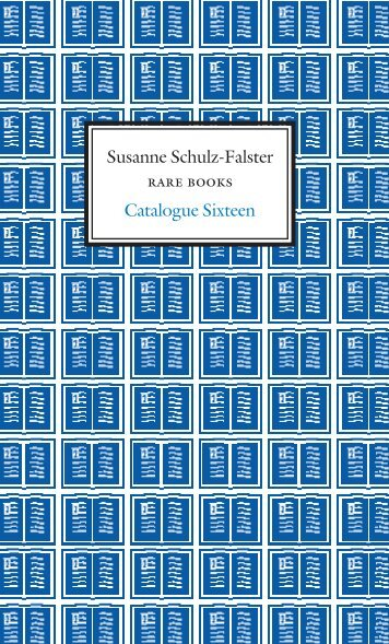 Catalogue Number 16 - Susanne Schulz-Falster