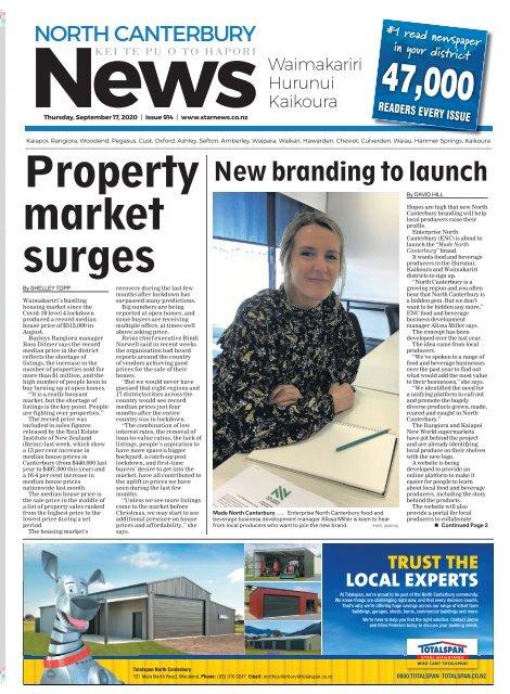 North Canterbury News: September 17, 2020