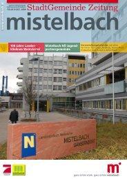 Gemeindezeitung 2009/8 (4,59 MB) - Mistelbach