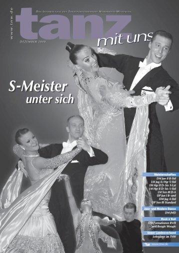 S-Meister unter sich - Deutscher Tanzsportverband eV