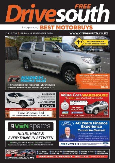 Best Motorbuys: September 18, 2020