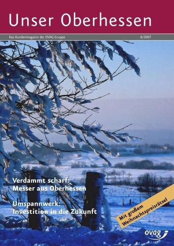 Messer aus Oberhessen Umspannwerk: Investition in die Zukunft