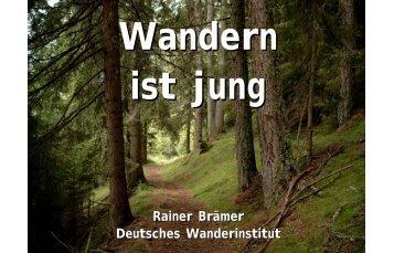Rainer Brämer Deutsches Wanderinstitut - Jugend wandert