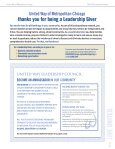 leadership giving directory - United Way of Metropolitan Chicago - Page 2