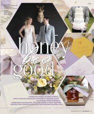 "Real Weddings Magazine's ""Honey Bee Good"" Styled Shoot - Fall 2020 - Featuring some of the Best Wedding Vendors in Sacramento, Tahoe and throughout Northern California!"