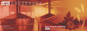 Beer Brands Portfolio - LWC