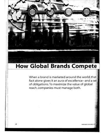 How Global Brands Com