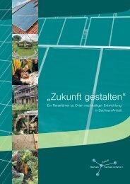 """""""Zukunft gestalten"""" - Servicestelle Agenda 21 Sachsen-Anhalt"""