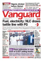 17092020 - Fuel, electricity: NLC draws battle line with FG