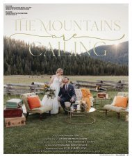 "Real Weddings Magazine's ""The Mountains are Calling"" Styled Shoot - Fall 2020 - Featuring some of the Best Wedding Vendors in Sacramento, Tahoe and throughout Northern California!"