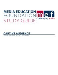 Captive Audience - Media Education Foundation