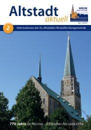 Gottesdienste - in der Altstädter Nicolaikirche