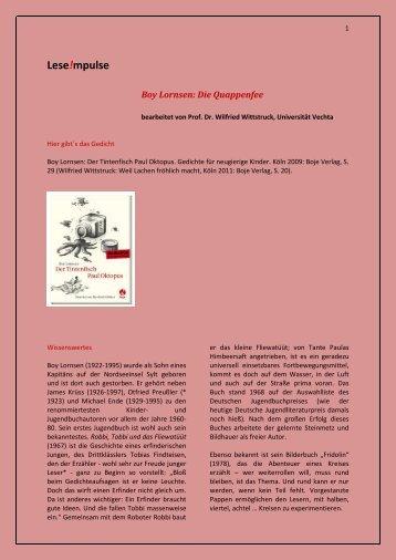 Lese!mpulse - Universität Vechta