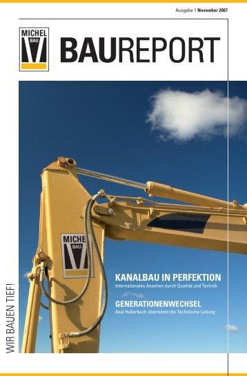 kanalbau in perfektion - Michel Bau