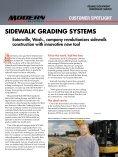 sidewalk grading systems pioneer concrete & fuel - Modern ... - Page 7