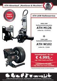 ATH-Abverkauf