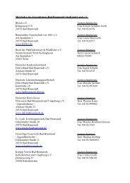 gibt es die Mitgliederliste auch als PDF - Jugendring Bad Bramstedt