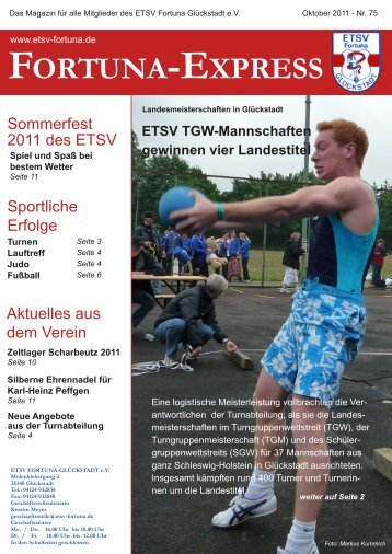 Fortuna Express - ETSV Fortuna Glückstadt eV