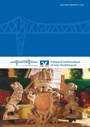 Geschäftsbericht 2010 - Volksbank-Raiffeisenbank im Kreis ...