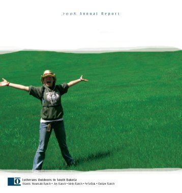 annual report 08.indd - Lutherans Outdoors