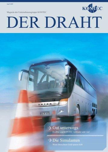 April 2009 DER DRAHT - Kontec