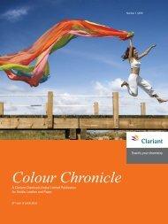 Colour Chronicle - Sept 2010 - Clariant