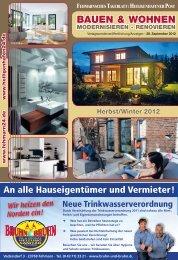 BAUEN & WOHNEN - Fehmarnsches Tageblatt