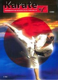 DKV-Magazin Nr. 6 - Chronik des deutschen Karateverbandes