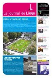 Votre Journal de Liège du mois de septembre 2020