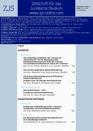 Download der aktuellen Gesamtausgabe - ZJS