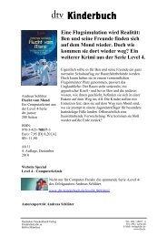 Ben und seine Freunde finden sich auf dem Mond ... - dtv Kinderbuch