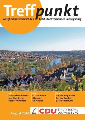 """adieu """"beach"""", wm und bp - CDU Ludwigsburg"""