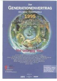 Generationenvertrag des Kindergipfels 1995