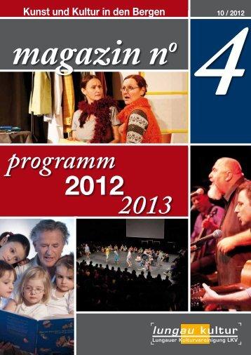 progra - Lungauer Kulturvereinigung