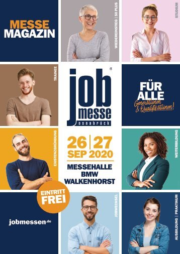 Das MesseMagazin zur 17. jobmesse osnabrück
