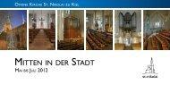 """Fortsetzung der theologischen Kurse """"Wir setzen Segel"""""""