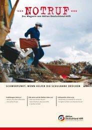 Wenn Helfer die Schulbank drücken - Aktion Deutschland Hilft